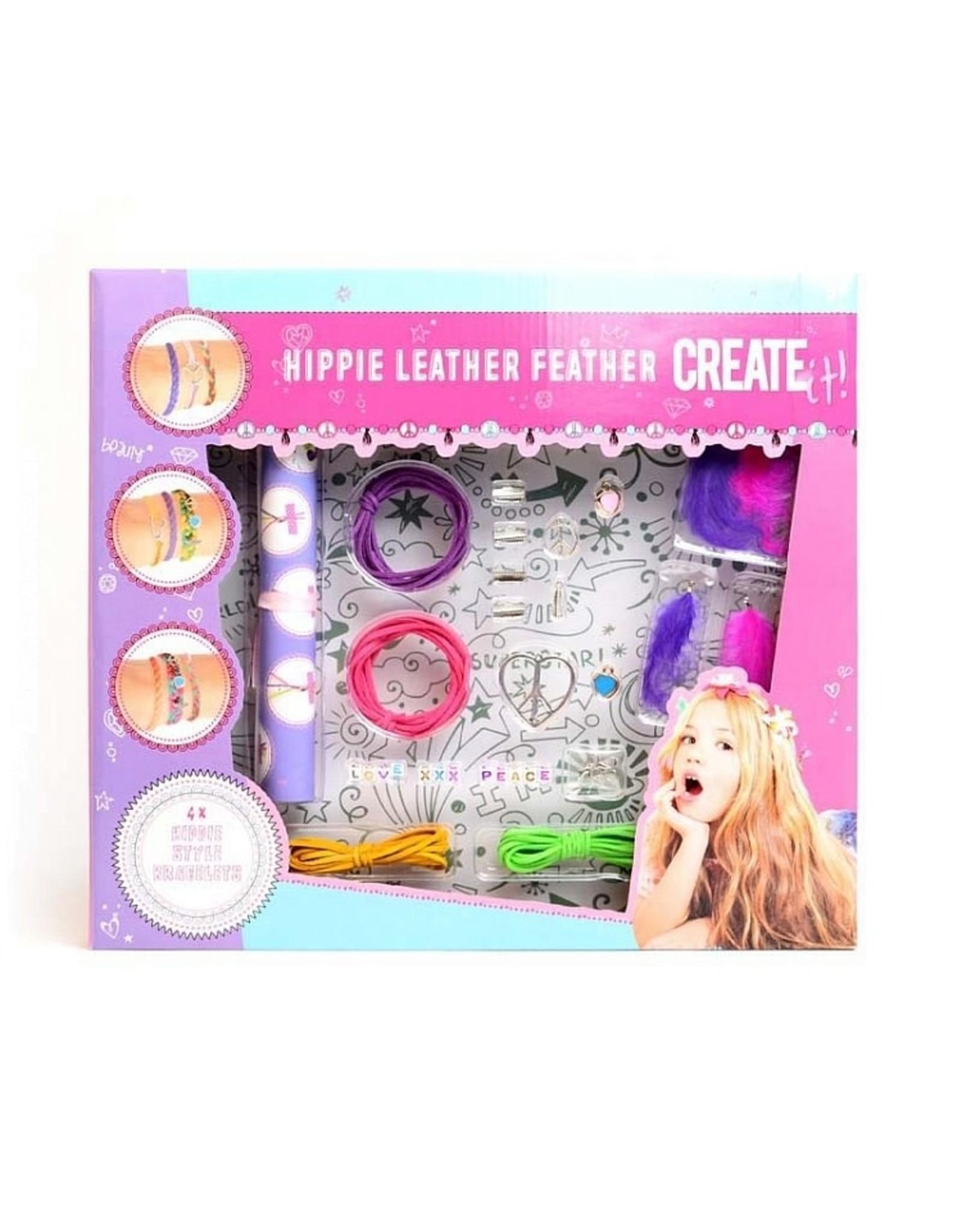 Create It! Create It! Hippie Leather Feather