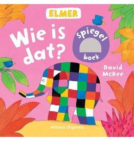 Elmer Wie is dat? (spiegelboek) 0+