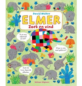 Elmer Zoek en Vind (karton) 1+