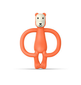 """Matchstick Monkey Matchstick Monkey Jungle Friends """"Bear Teether"""""""