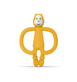 """Matchstick Monkey Matchstick Monkey Jungle Friends """"Lion Teether"""""""