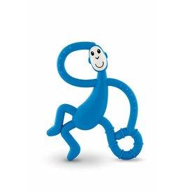 """Matchstick Monkey Matchstick Monkey Mini Monkey Teether """"Blauw"""""""