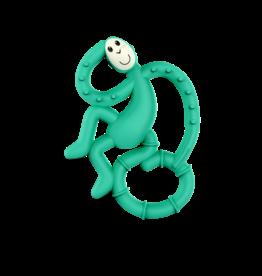 """Matchstick Monkey Matchstick Monkey Mini Monkey Teether """"Groen"""""""