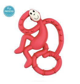 """Matchstick Monkey Matchstick Monkey Mini Monkey Teether """"Rood"""""""