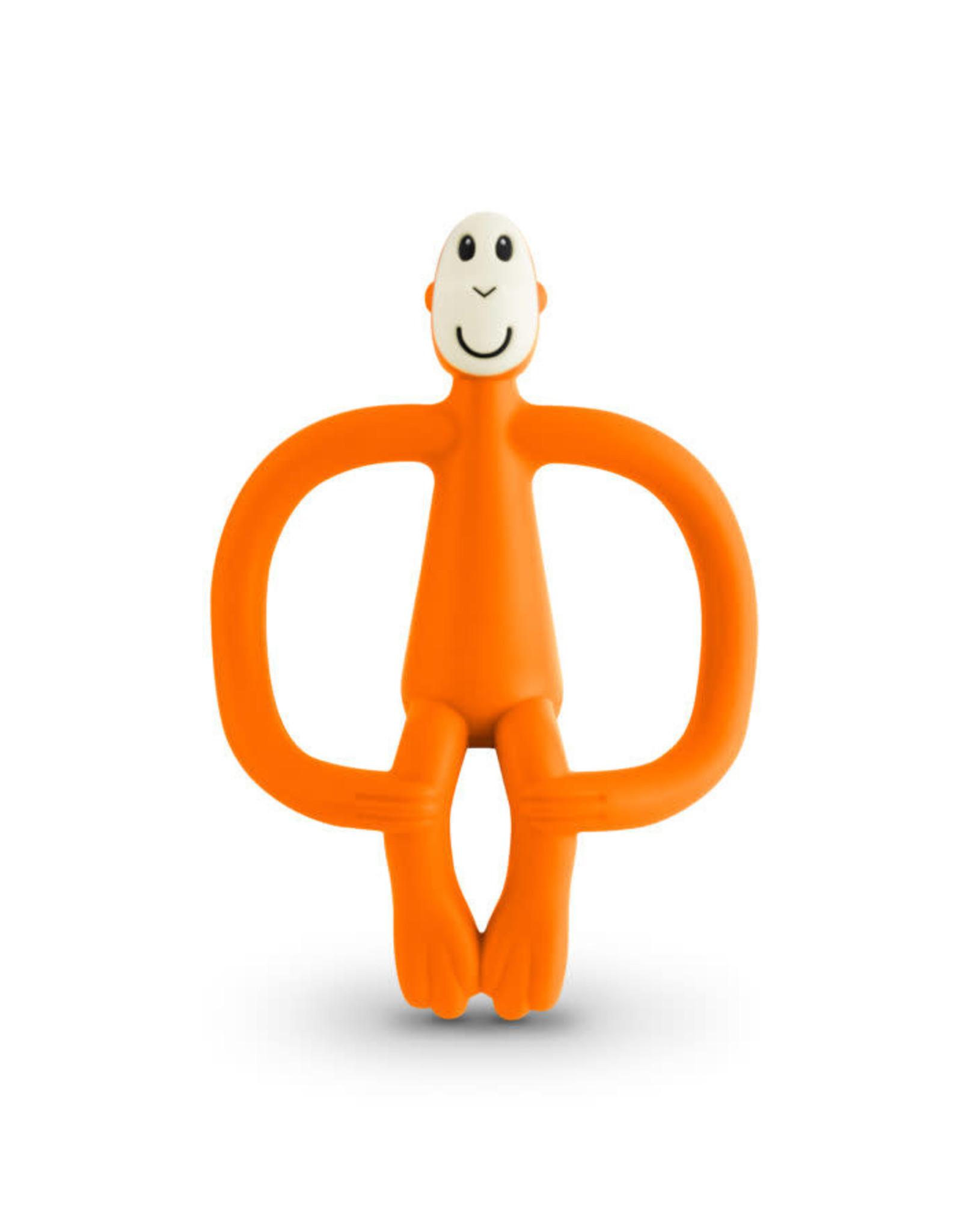 "Matchstick Monkey Matchstick Monkey Teether ""Orange"""