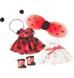 """Götz JLM Outfit """"Ladybug"""" XS"""