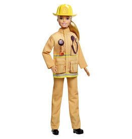 """Mattel Barbie You Can Be Anything """"Brandweervrouw"""""""
