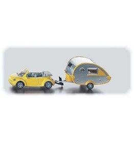 Siku Siku 1629 - Volkswagen Beetle met Caravan