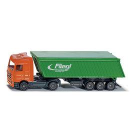 """Siku Siku 1796 - 1:87 Truck met """"Fliegl"""" Kieper"""