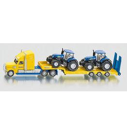 Siku Siku 1805 - Zwaartransport met 2 New Holland Tractoren