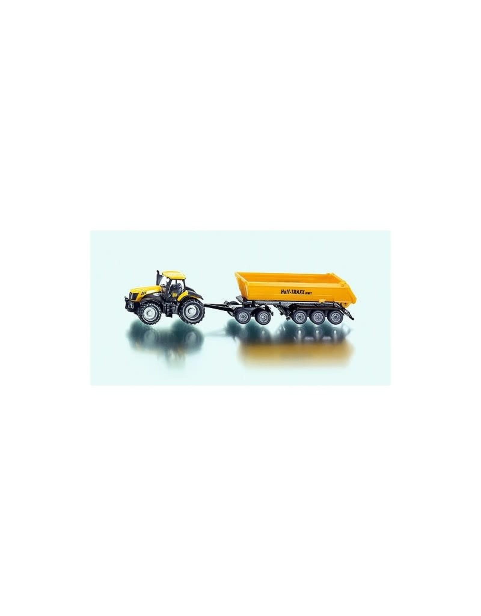 Siku Siku 1858 - 1:87 Tractor met Dolly en Kiepwagen