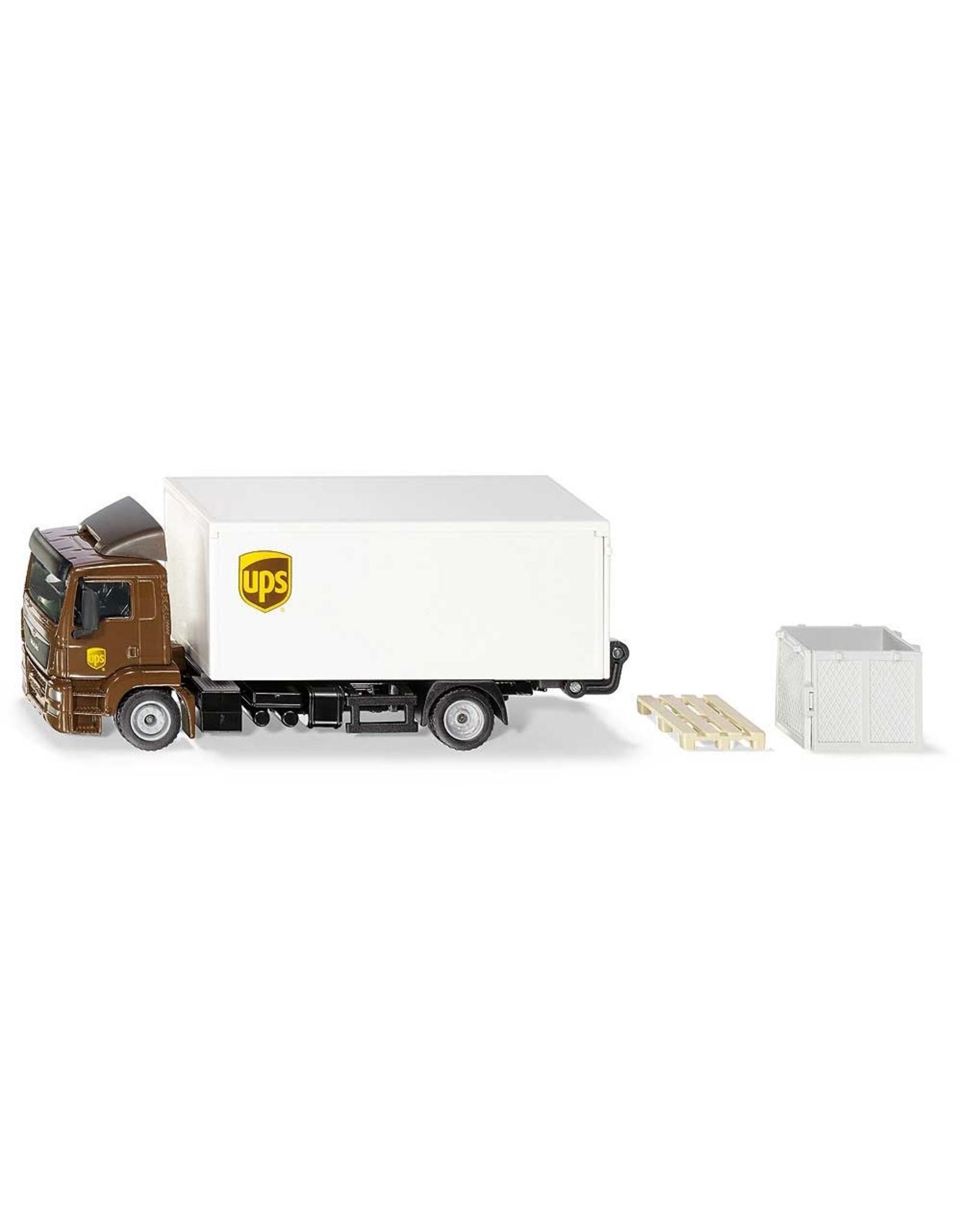 Siku Siku 1997 - 1:50 MAN Truck UPS bakwagen met lift