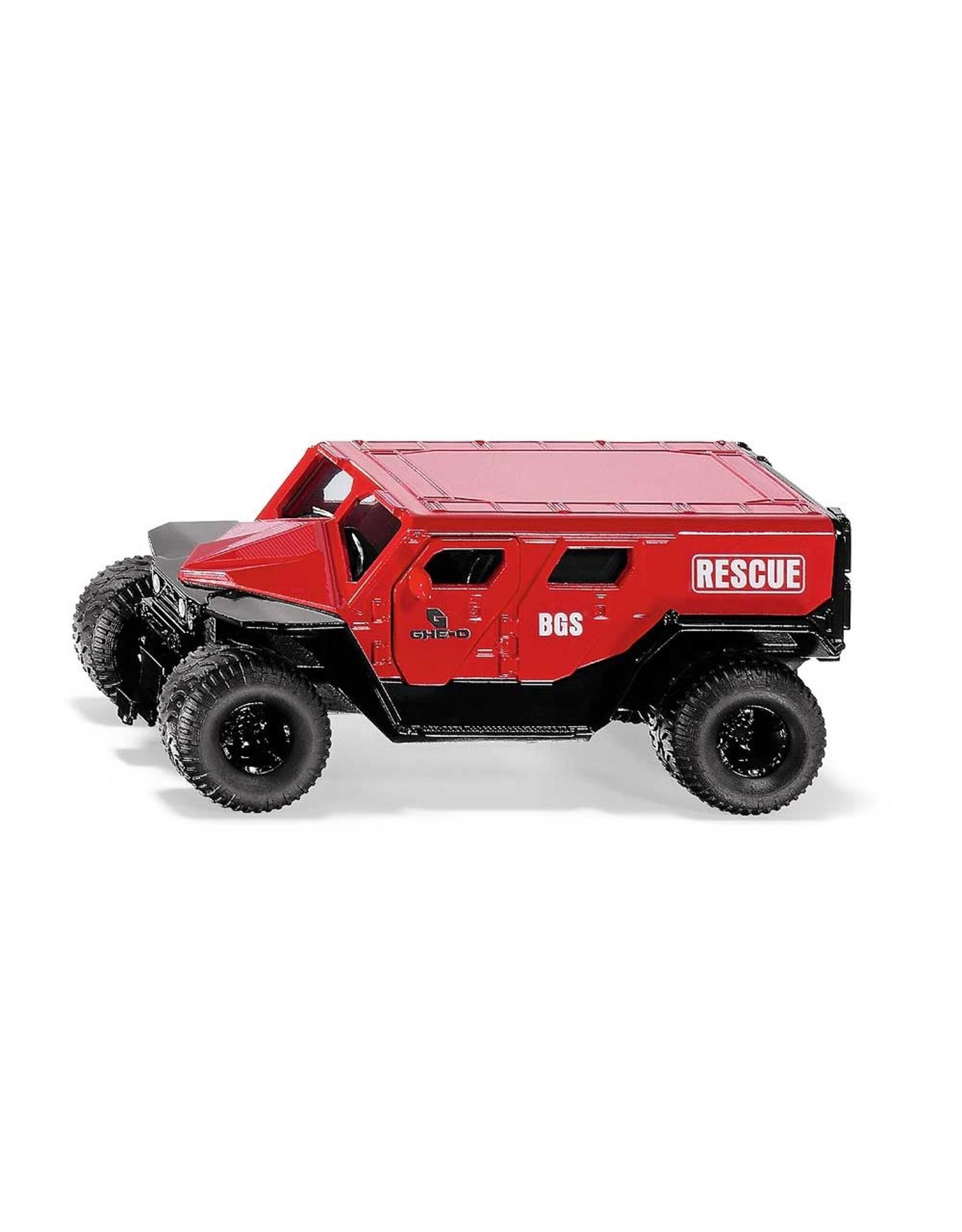 Siku Siku 2307 - 1:50 GHE-O Rescue Car