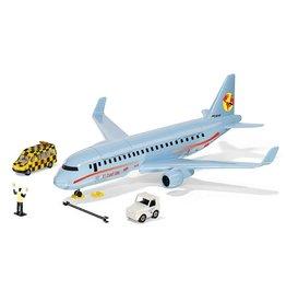 Siku Siku 5402 - Verkeersvliegtuig met accessoires