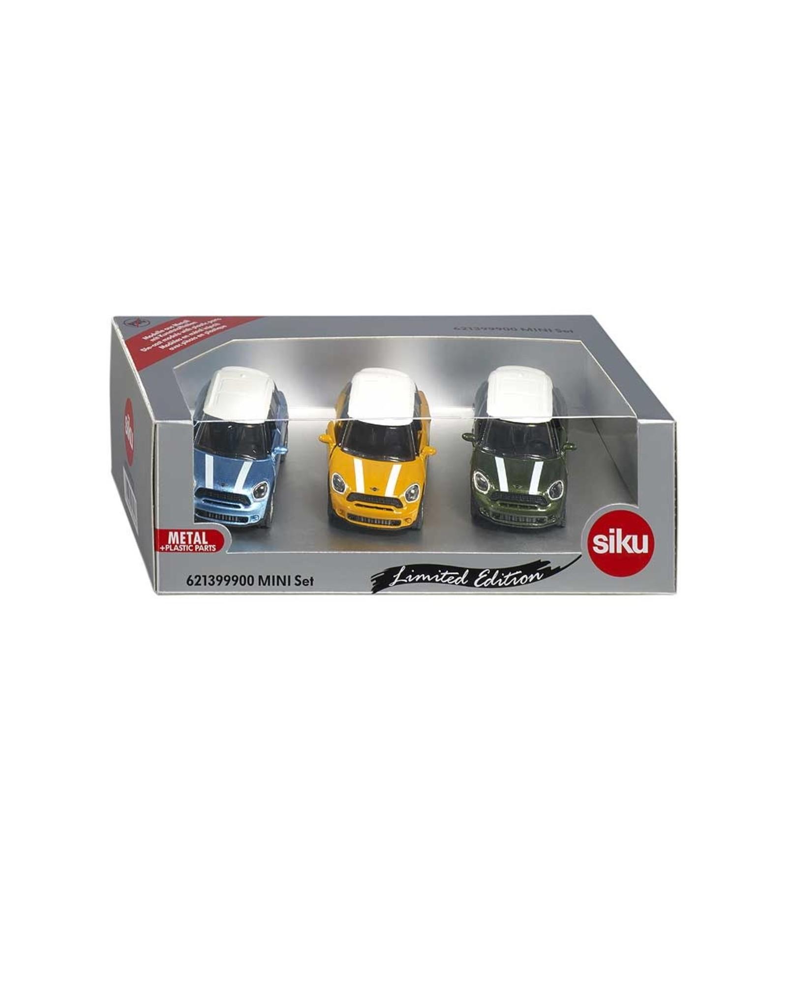Siku Siku 6213 - Set Mini Cooper 3-delig