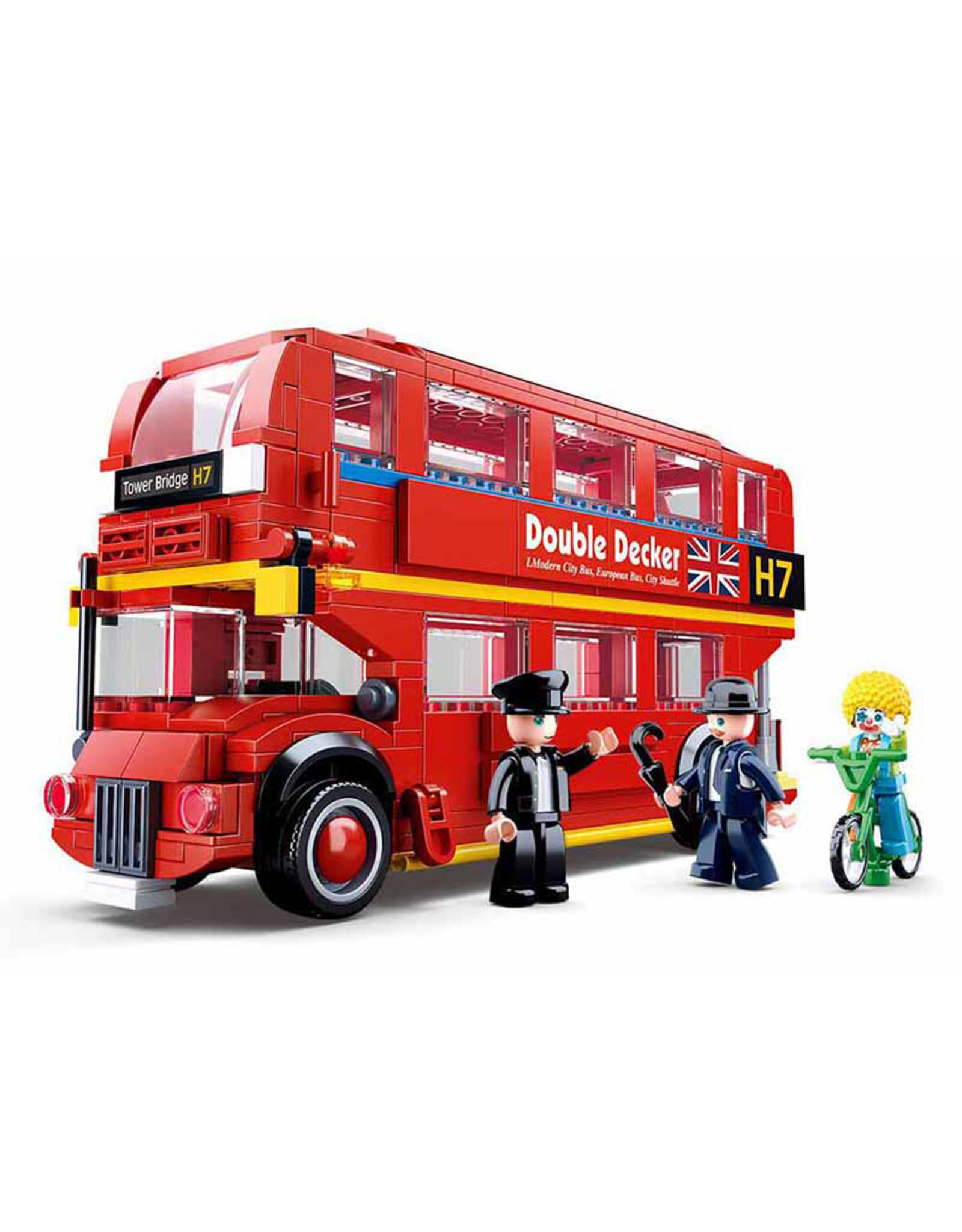 Sluban Sluban Model Bricks - Londonse Dubbeldekkerbus