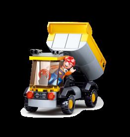 Sluban Sluban Construction - Kleine Kiepwagen