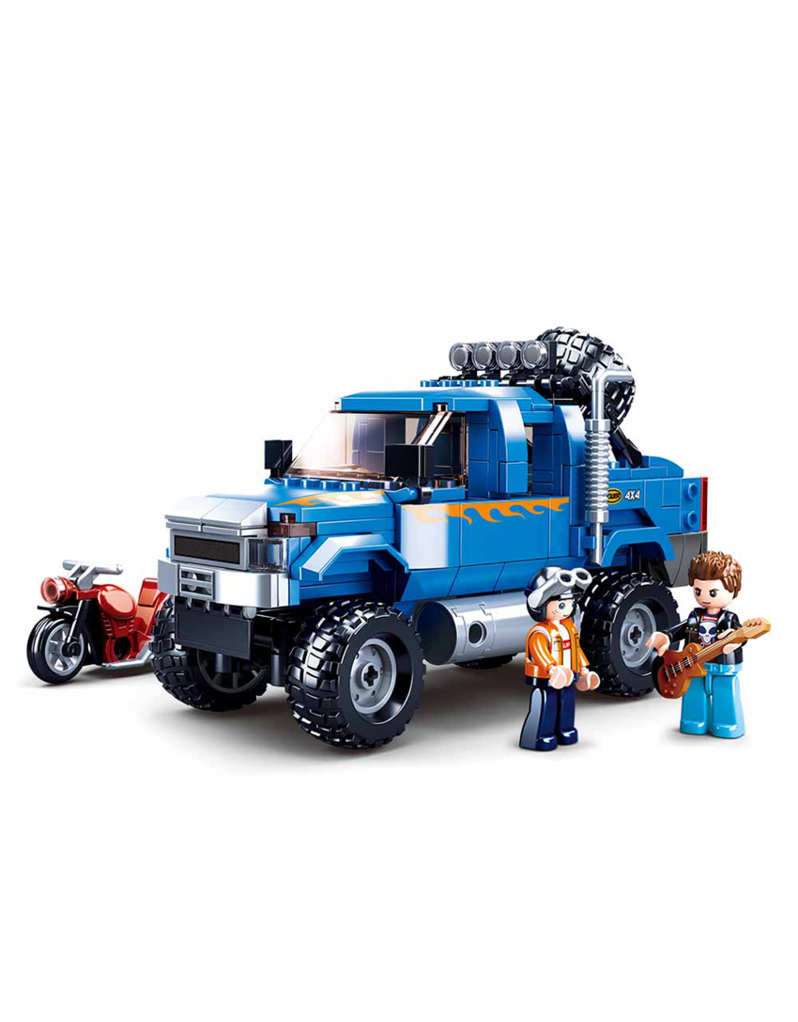Sluban Sluban Model Bricks - Blauwe Pick-Up