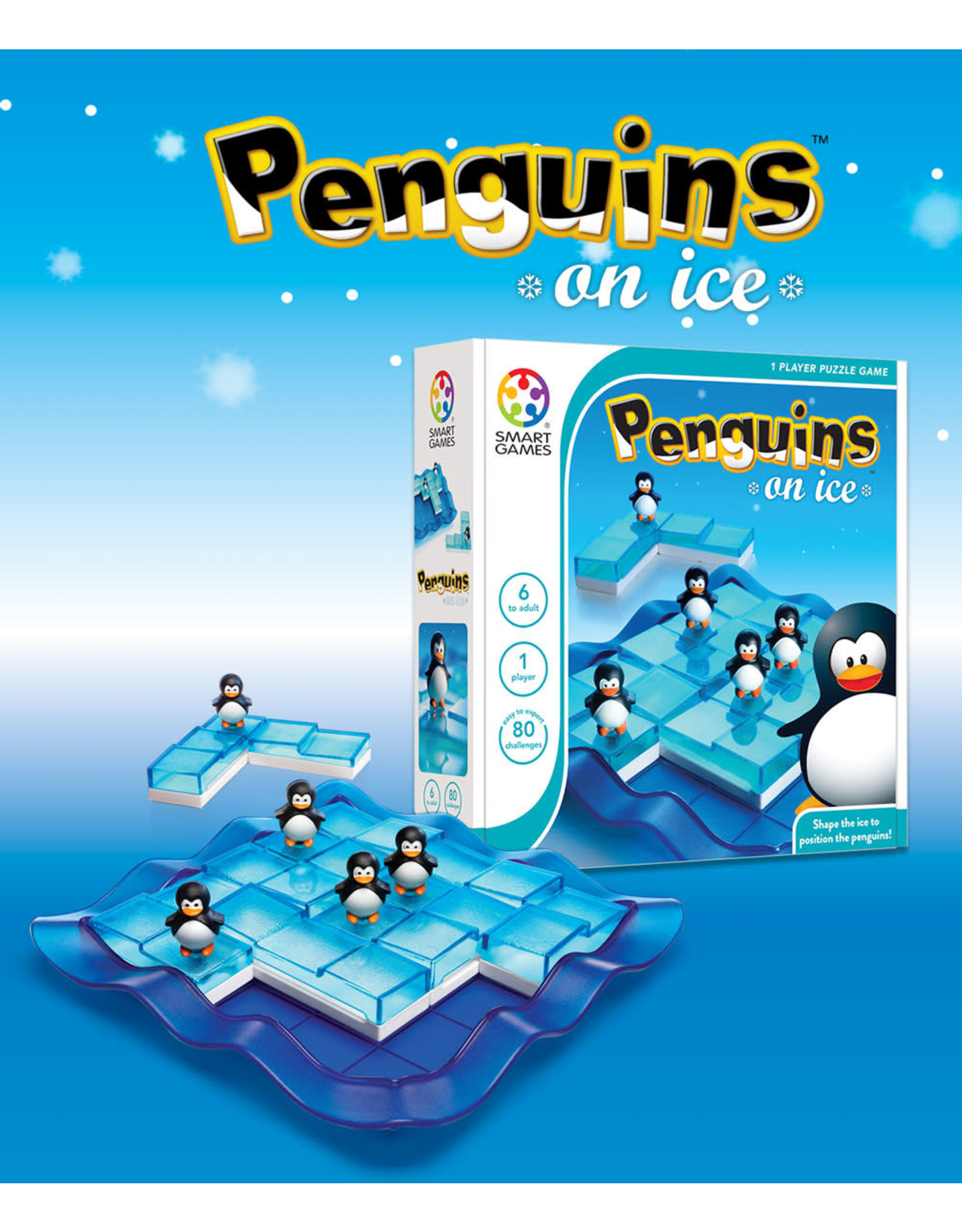 SmartGames Smart Games Classic - Penguins on Ice