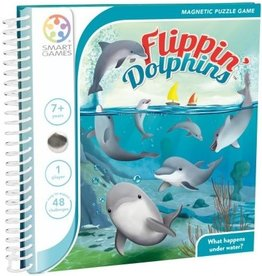 SmartGames Smart Games Magnetic Travel Game - Flippin' Dolphins