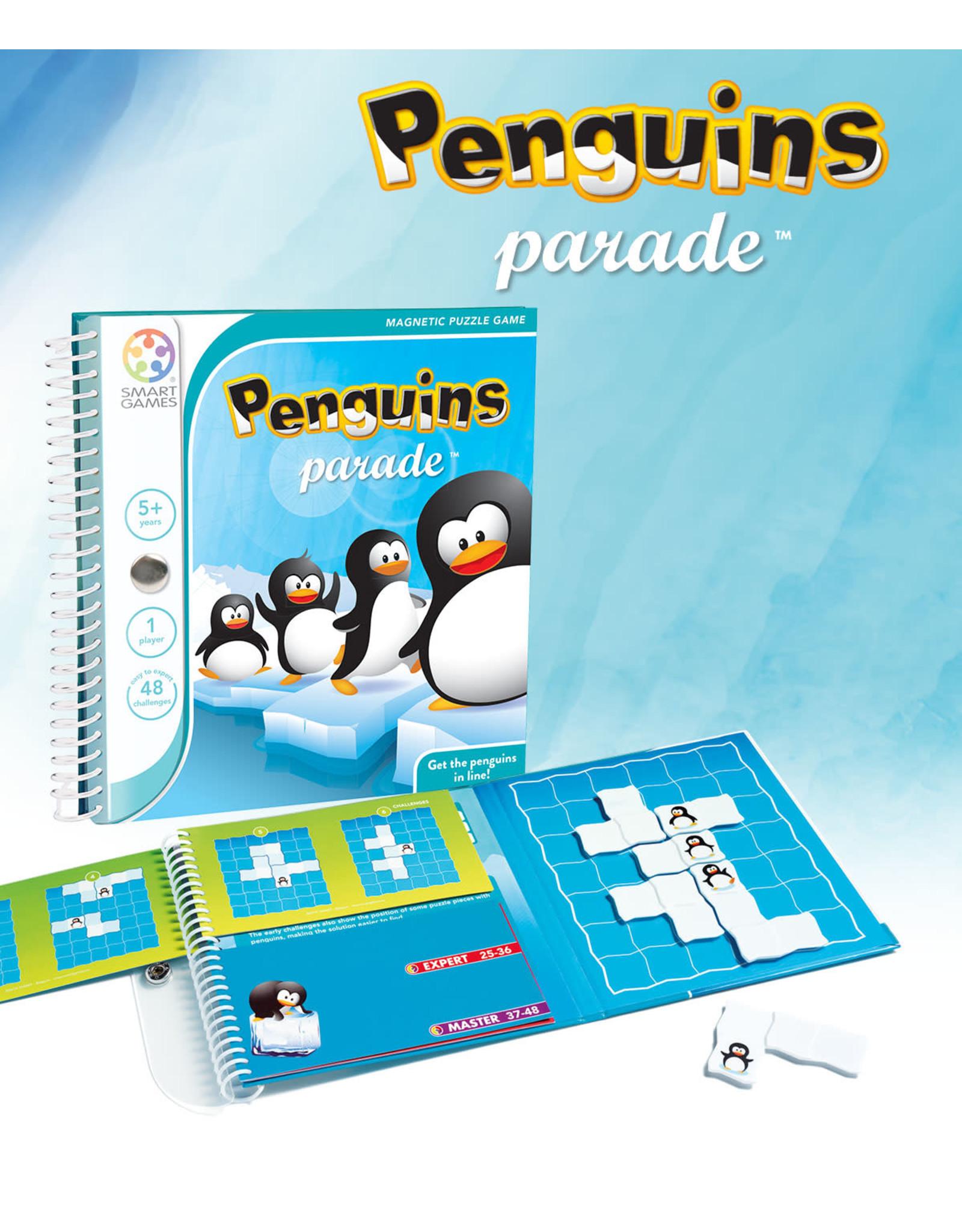 SmartGames Smart Games Magnetic Travel Game - Penguins Parade