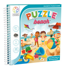 SmartGames Smart Games Magnetic Travel Game - Puzzle Beach