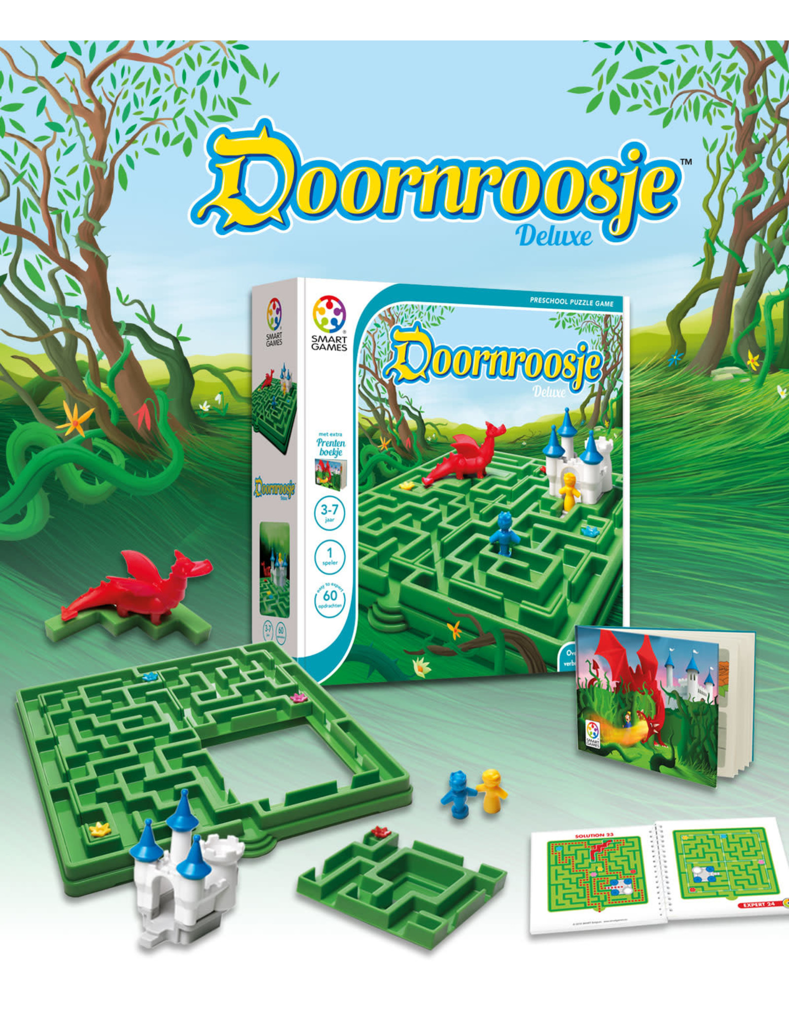 SmartGames Smart Games Preschool - Doornroosje