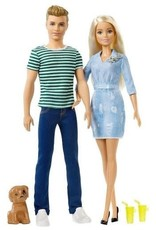 Mattel Barbie Giftset met Puppy