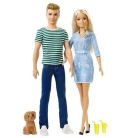 Mattel Barbie Gift Set met Puppy