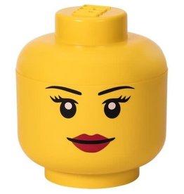 """Lego Lego Storage Head L """"Girl"""""""
