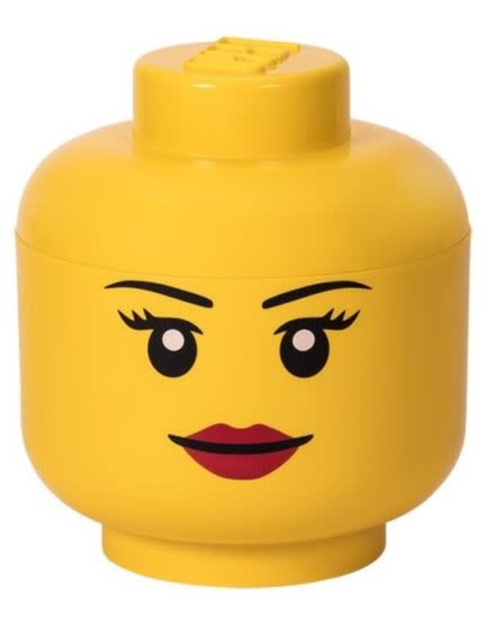 "Lego Lego Storage Head S ""Girl"""