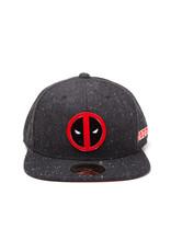 Deadpool Metal Badge Logo Snapback Cap