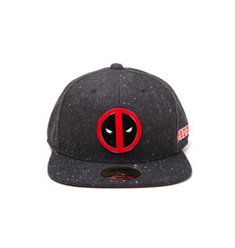 Deadpool Metal Badge Logo Snapback