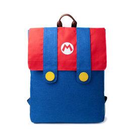 Super Mario Denim Suit Flap Backpack