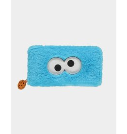 Cookie Monster Fur Zip Around Wallet