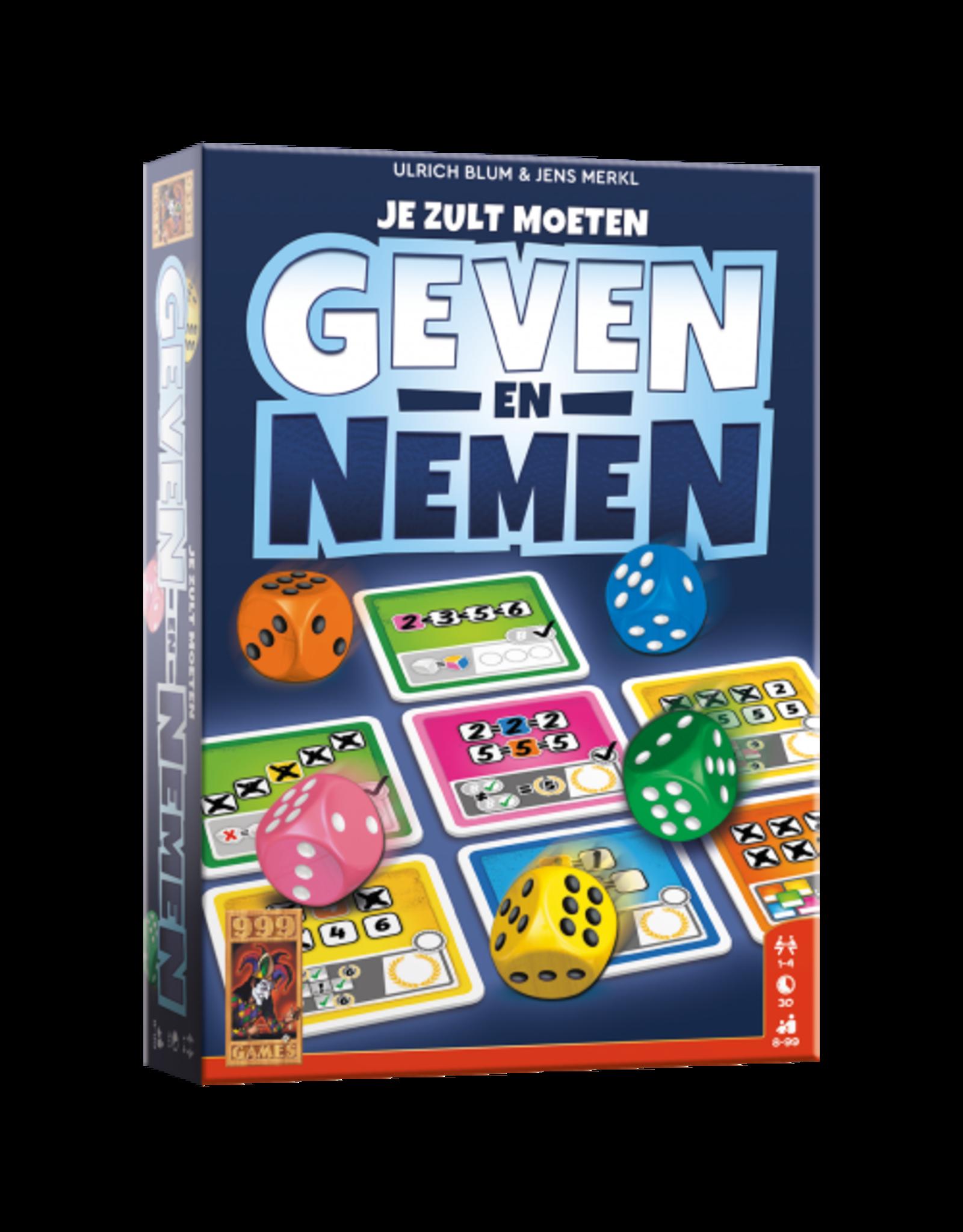 999 Games Geven en Nemen
