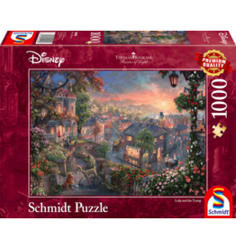 "Schmidt Disney Puzzel ""Lady and the Tramp"""