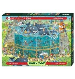 """Heye Funky Zoo Puzzel  """"Ocean Habitat"""""""