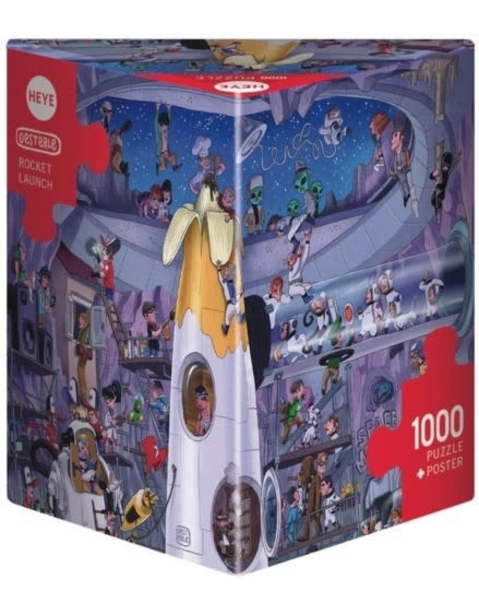 """Heye Puzzel """"Rocket Launch"""" 1000 stukjes"""
