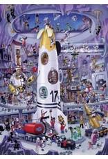 """Heye Puzzel + Poster """"Rocket Launch"""" 1000 stukjes"""