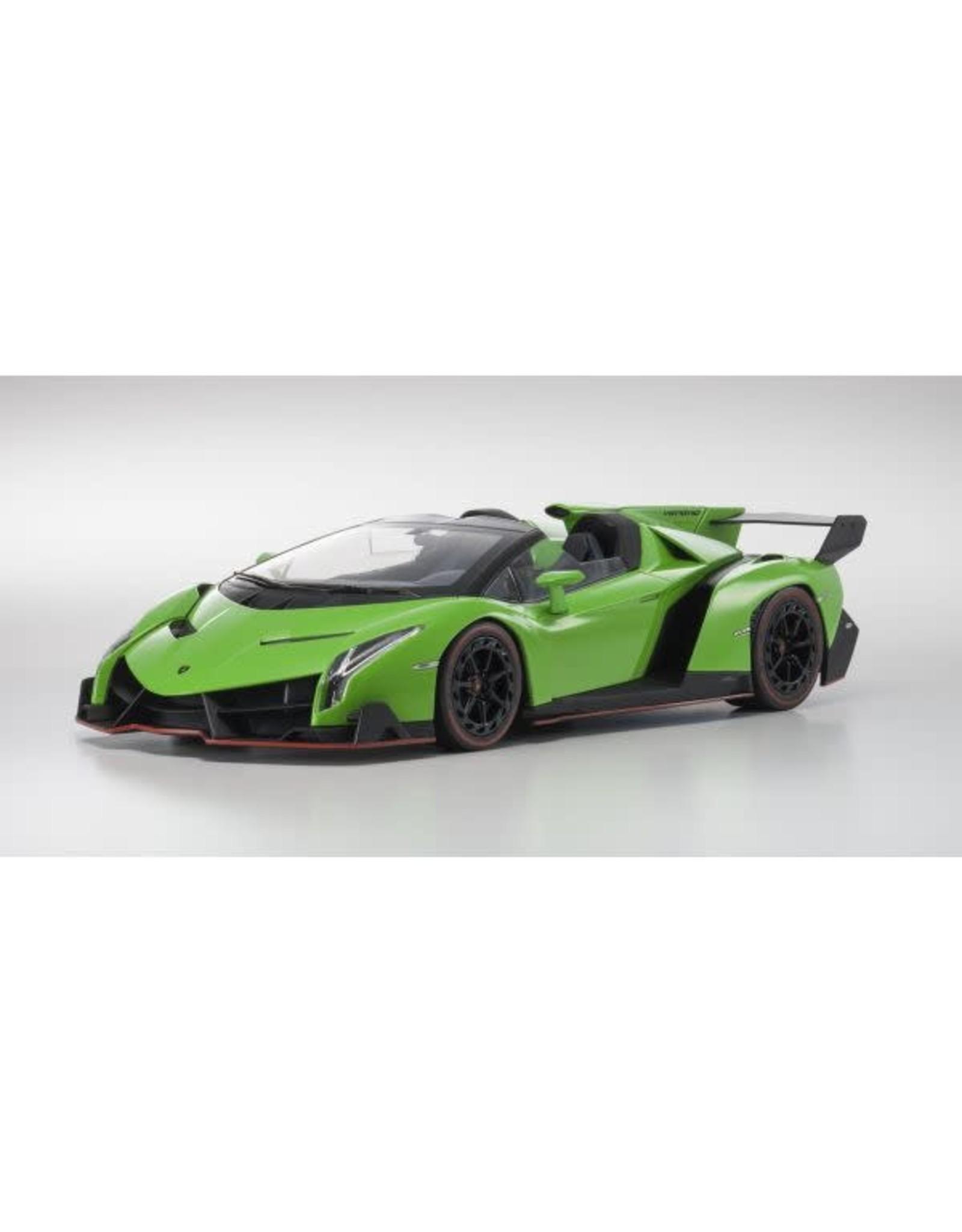 Kyosho 1:18 Lamborghini Veneno Roadster Green