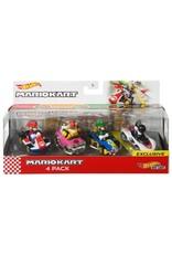 HotWheels Mario Kart Hotwheels 4-pack