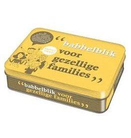 """Babbelblik """"voor gezellige families"""""""