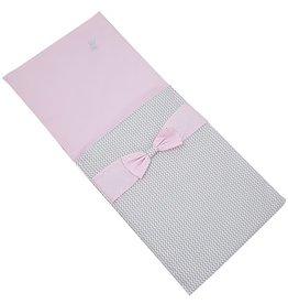 Dekje Elegance Grijs/Roze