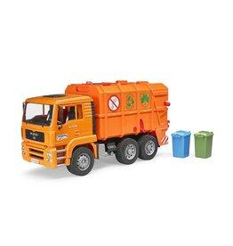 Bruder Bruder 2760 - MAN Vuilniswagen Oranje