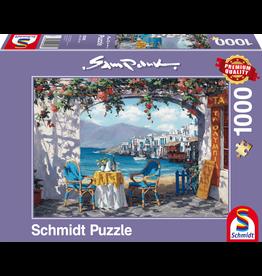 """Schmidt Puzzel """"Rendez-vous op Mykonos"""""""