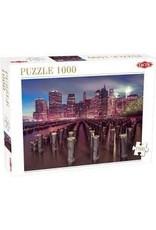 """TacTic 1000 stukjes puzzel """"Skyscrapers in New York"""""""