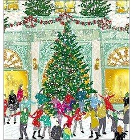 """Woodmansterne Set Wenskaarten """"Winter Joy"""" (5 stuks)"""