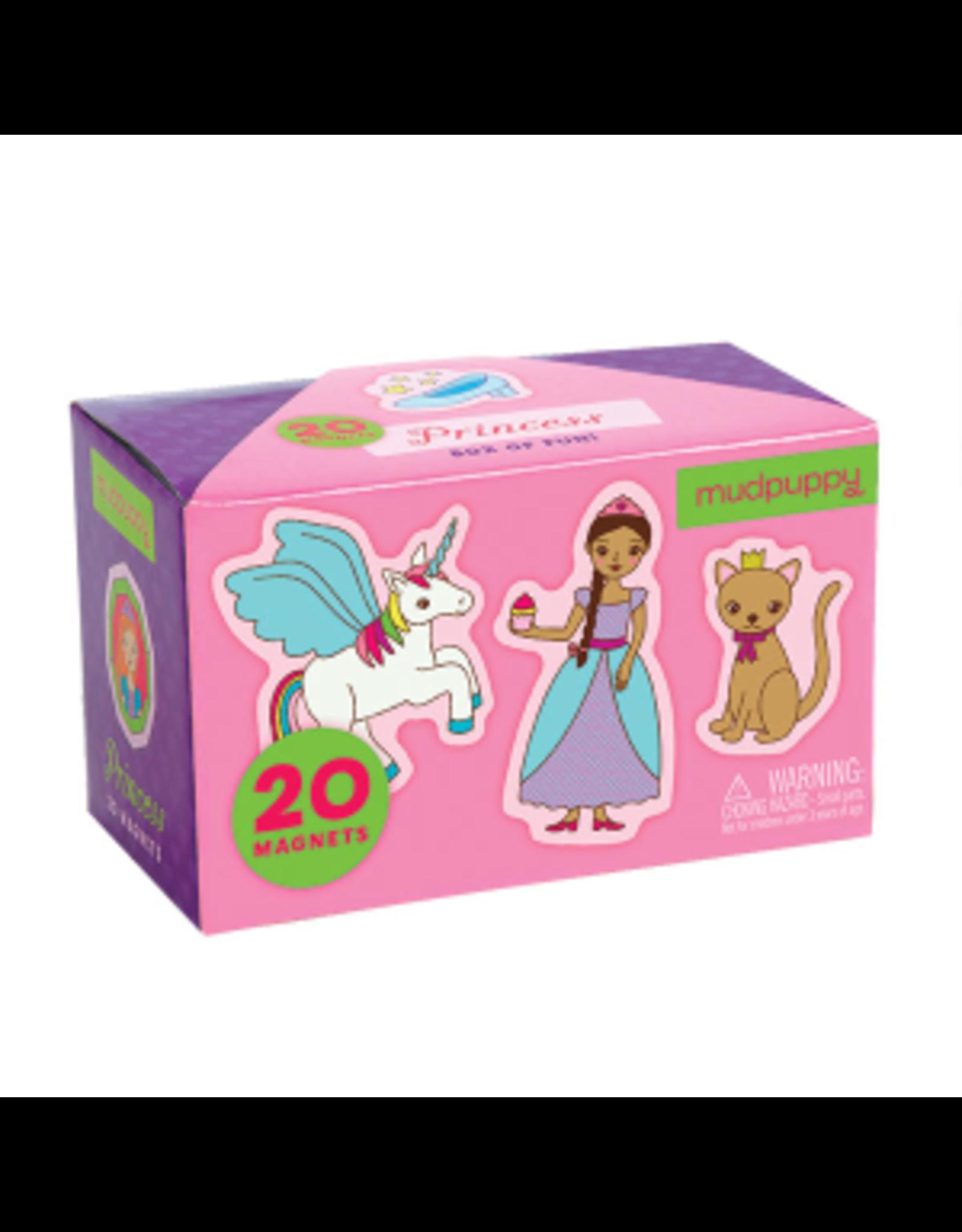 """Mudpuppy Box of Magnets """"Princess"""""""