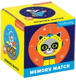 "Mudpuppy Memory Match ""Outer Space"""